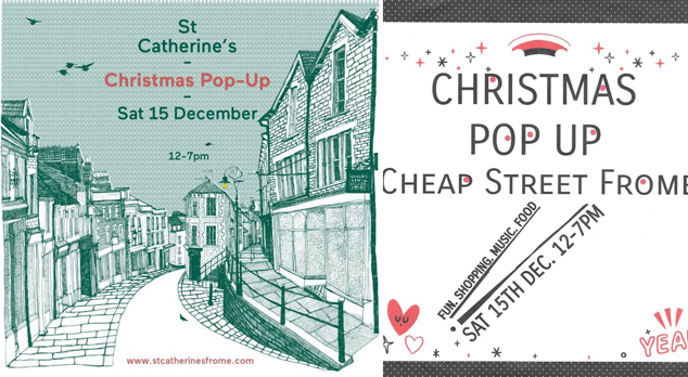 Frome Christmas pop ups